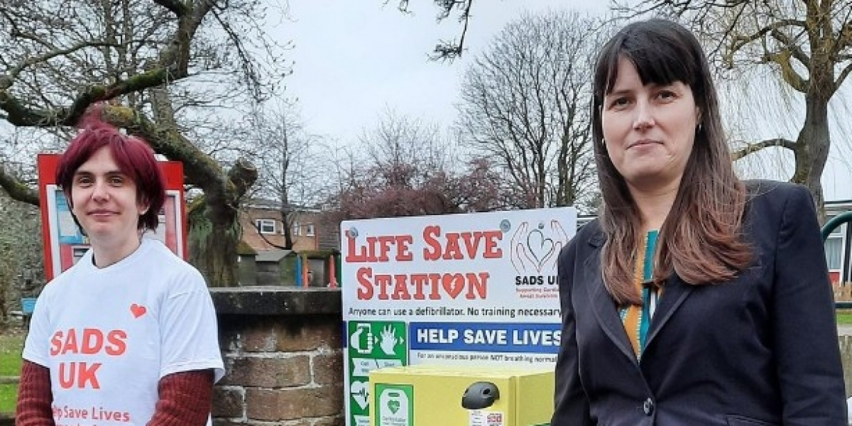 Lifesaving Defibrillator Donated In Memory of Joe Spooner