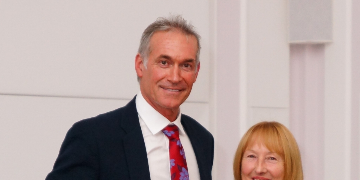 SADS UK Patron Dr Hilary Jones receives MBE