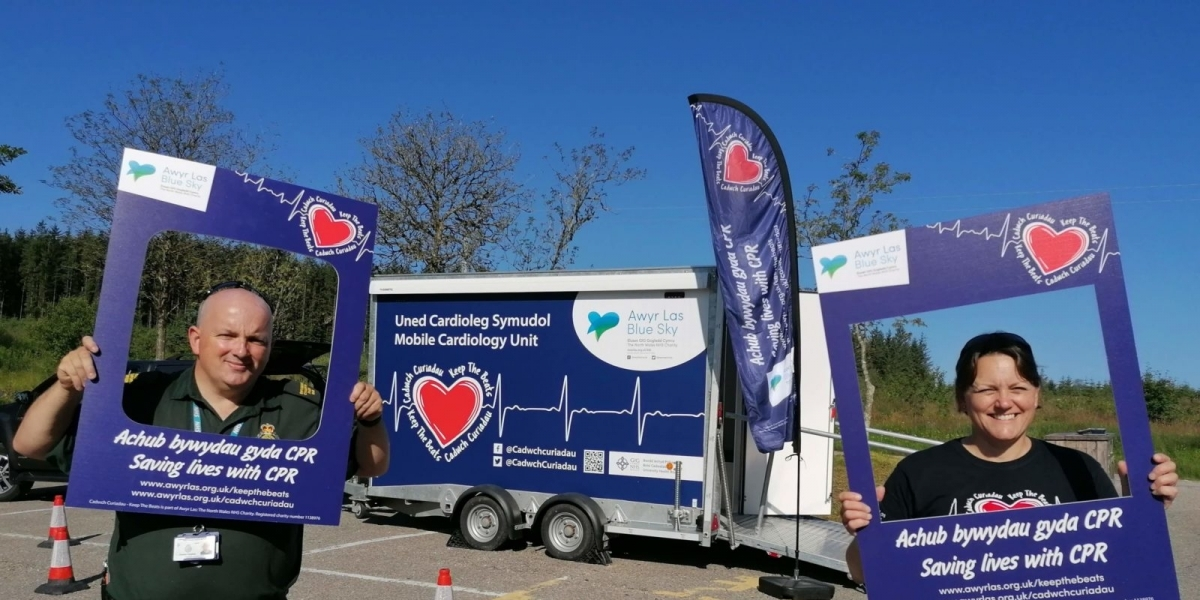 SADS UK supporting first of its kind unit launched to promote heart education in rural North Wales