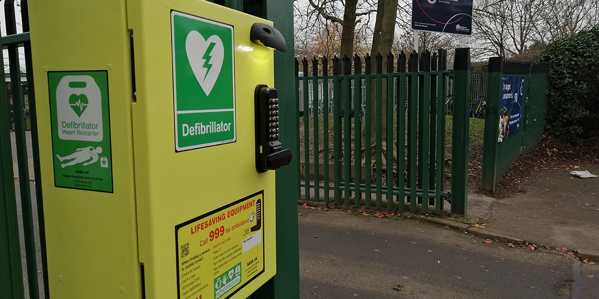 All Schools should have defibrillators to restart the Heart